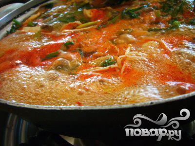 Овощной суп с тортеллини - фото шаг 2