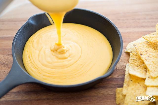 острый сырный соус для начос рецепт