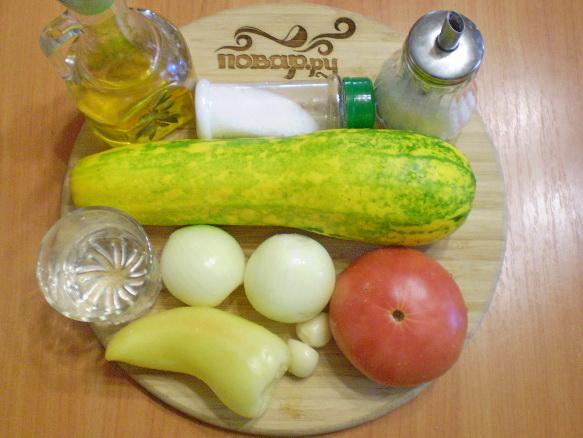 Рецепт Кабачковая икра в домашних условиях