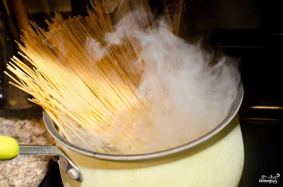 Пирог со спагетти - фото шаг 2