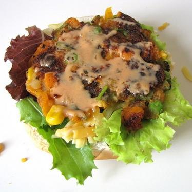 Вегетарианский бургер - фото шаг 9