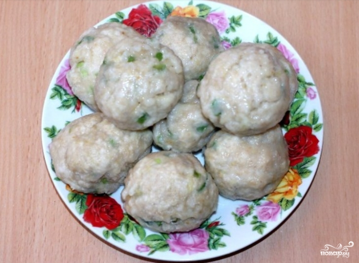 Картофельные клецки рецепт с фото пошагово