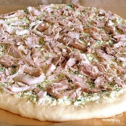 Деревенская пицца - фото шаг 4