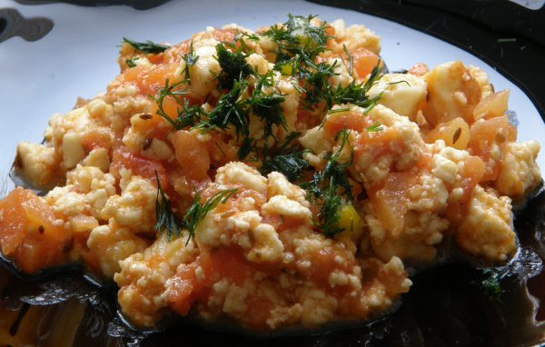 Вегетарианский омлет без яиц - фото шаг 6