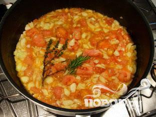 Фаршированные помидоры и кабачки - фото шаг 7