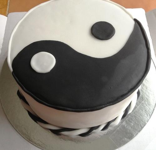 торт инь янь рецепт с фото