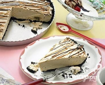 Шоколадный пирог с арахисовым маслом