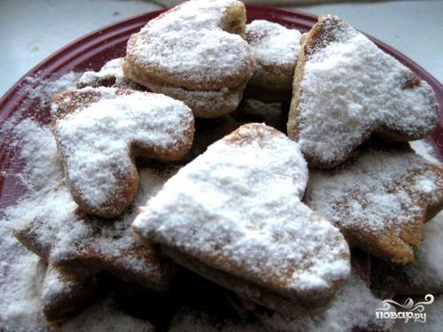 Cладкое печенье на скорую руку