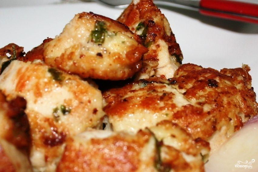 Рецепт Куриное филе в сливках
