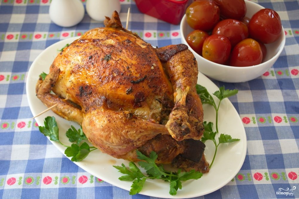 Курица по-тацински