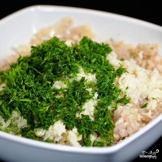Рыбные котлеты с рисом - фото шаг 7