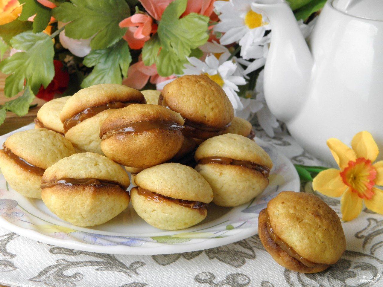 Печенье и сгущенка вареная рецепт с пошагово