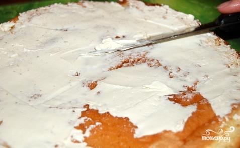 Торт с абрикосами - фото шаг 10