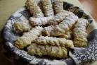 Печенье через мясорубку с майонезом