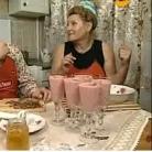 Рецепт Клубничный коктейль с йогуртом