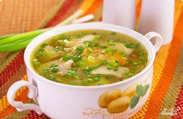 Рецепт Куриный суп в мультиварке