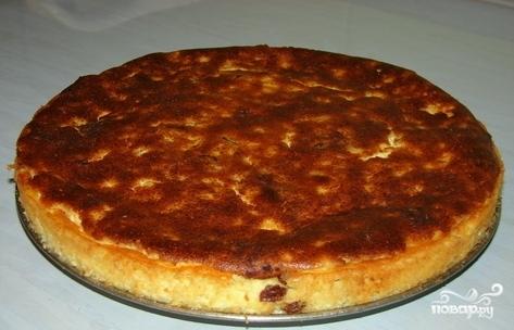 Рецепт Творожная запеканка на сковороде