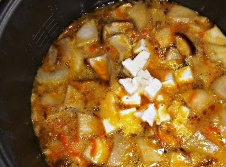 Суп из свежих белых грибов - фото шаг 5