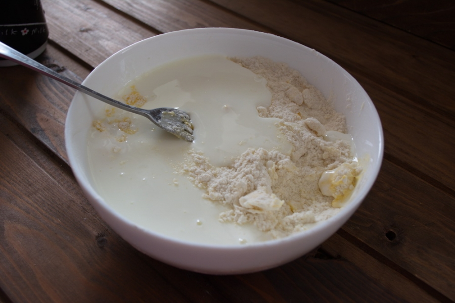 Печенье на йогурте - фото шаг 3
