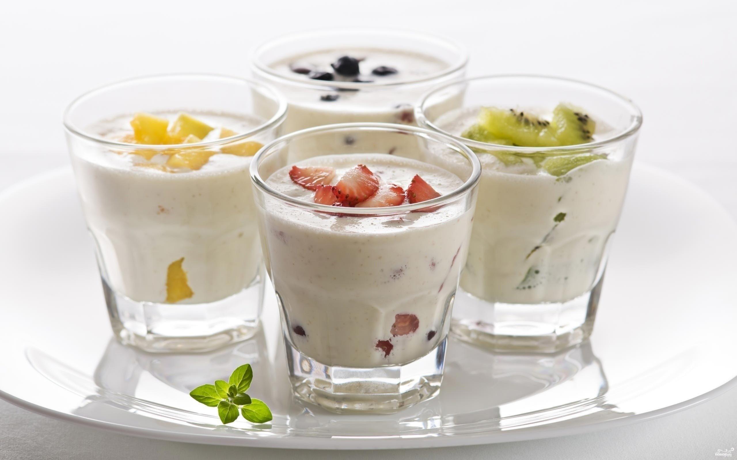 Домашний йогурт из закваски