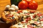 Пицца на сковороде с сыром