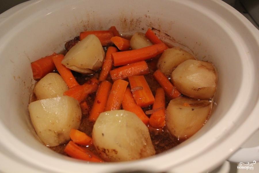 жаркое в духовке в казане рецепт