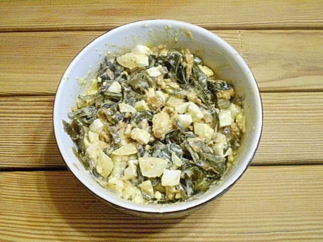 Салат к жареной картошке - фото шаг 7