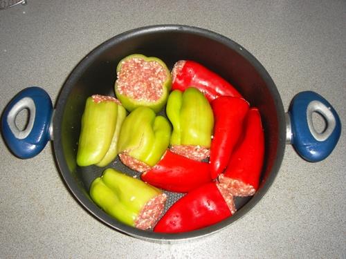 голубцы из болгарского перца рецепт пошагово с фото