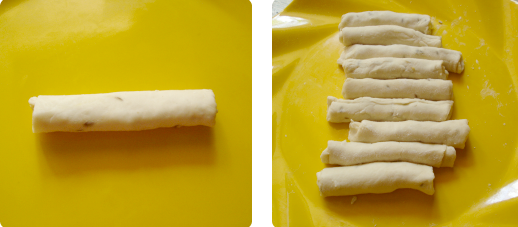 Закусочные рулеты - фото шаг 3