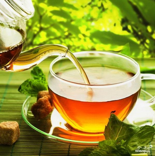 Рецепт Чай из листьев черной смородины