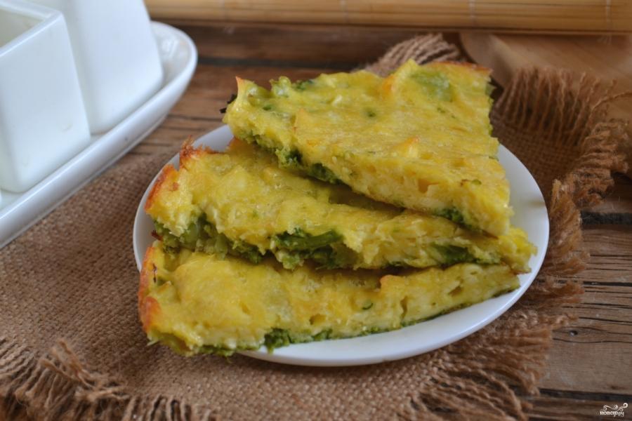 Запеканка из брокколи с сыром и яйцами - фото шаг 9