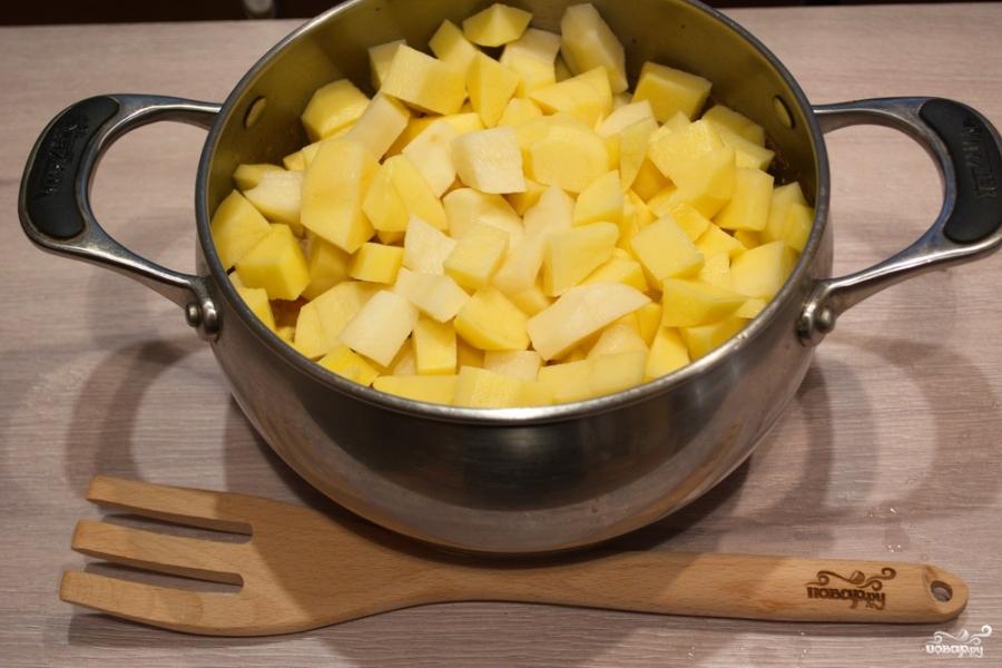 рецепт тушить мясо с овощами и картошкой