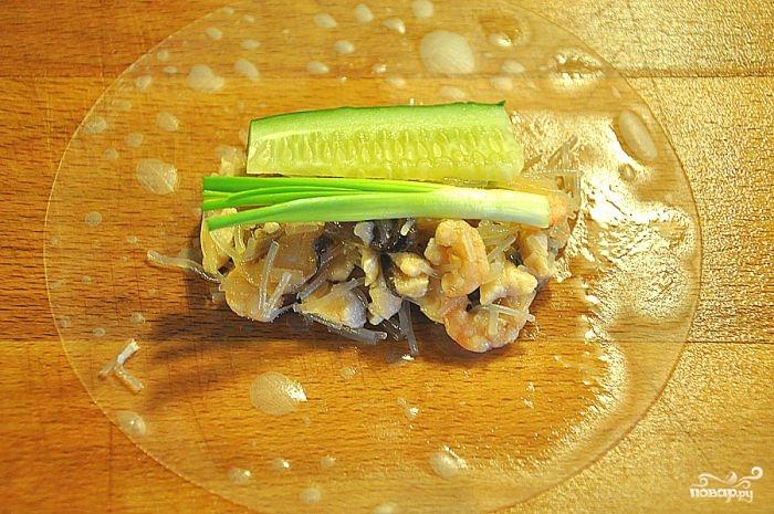 Рисовые роллы - фото шаг 3