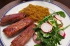Свиные ребрышки в кефирном маринаде