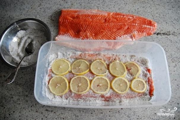 Засолить красную рыбу домашних условиях