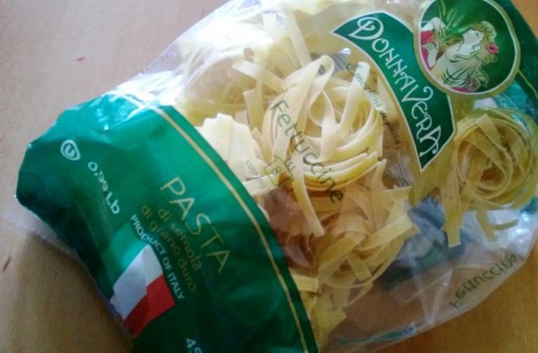 Рецепт Паста с креветками в сливочно-чесночном соусе