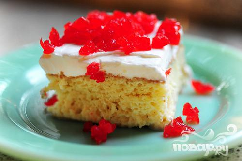 Пирог со сгущенным молоком - фото шаг 9