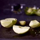 Рецепт Перевернутый яблочный пирог с карамелью