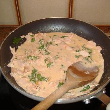 Кремовая паста с лососем  - фото шаг 7