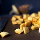 Рецепт Салат с тыквой, чечевицей и козьим сыром