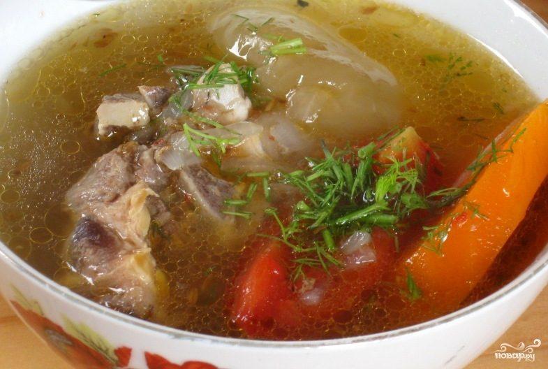 Рецепт шурпа с фото пошагово
