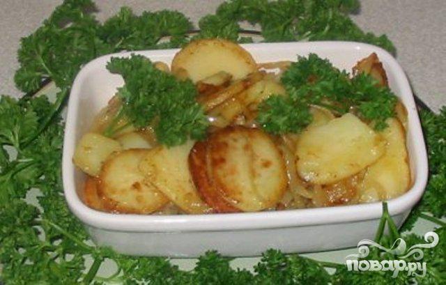 Картофель по-лионски - фото шаг 4