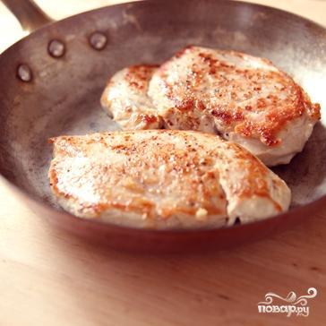 Курица с соусом из цуккини - фото шаг 4
