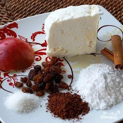 Рецепт Снеговик из творога