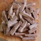 Рецепт Салат из говядины с омлетом
