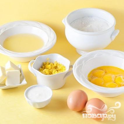 Лимонные пирожные - фото шаг 3