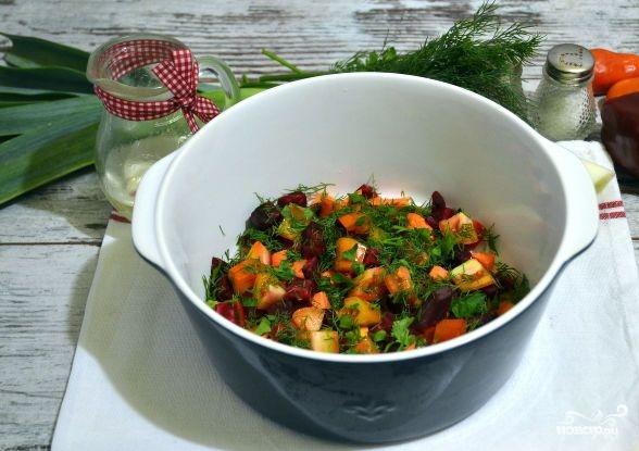 Овощное рагу со свининой в духовке - фото шаг 6