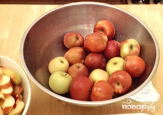 Яблочный конфитюр - фото шаг 1