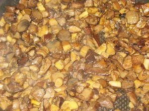 Подосиновики с картошкой - фото шаг 3