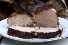Мясо горячего копчения в коптильне